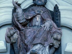 Iglesia parroquial de San Pedro. Escultura. San Pedro