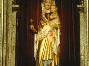 Ermita de Arritokieta. Escultura. Andra Mari