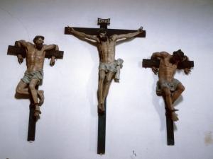 Ermita de Arritokieta. Escultura. Calvario
