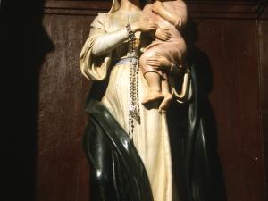 Iglesia parroquial de San Miguel de Artadi. Escultura. Virgen con niño