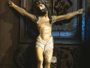 Iglesia parroquial de San Miguel de Artadi. Escultura. Cristo Crucificado
