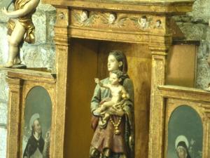 Iglesia parroquial de San Pedro. Escultura. Virgen del Rosario