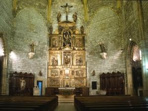 Iglesia parroquial de San Pedro. Interior