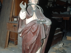 Iglesia parroquial de San Vicente. Escultura. San Martín de Tours