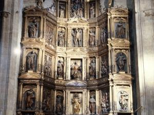Iglesia parroquial de San Vicente. Retablo de San Vicente