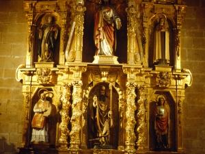 Iglesia parroquial de San Vicente. Retablo de San Eloy