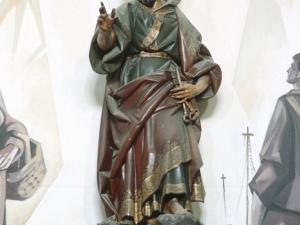 Iglesia de San Pedro del muelle. Escultura. San Pedro