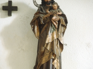 Iglesia de San Pedro del muelle. Escultura. San José
