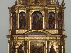 Museo Diocesano de San Sebastián. Sagrario. Detalle