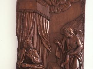 Museo Diocesano de San Sebastián. Anunciación. Relieve