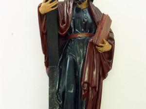 Museo Diocesano de San Sebastián. Escultura. San Andrés