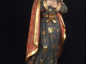 Museo Diocesano de San Sebastián. Escultura. Santa Ana