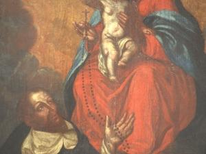 Museo Diocesano de San Sebastián. Pintura. Entrega del Rosario
