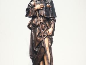 Museo Diocesano de San Sebastián. Escultura. San Roque