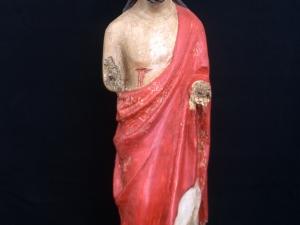 Museo Diocesano de San Sebastián. Escultura. Cristo resucitado