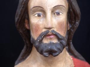 Museo Diocesano de San Sebastián. Escultura. Detalle de Cristo resucitado