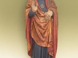Museo Diocesano de San Sebastián. Escultura. Cristo bendiciente