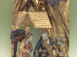 Museo Diocesano de San Sebastián. Relieve. Nacimiento de Cristo