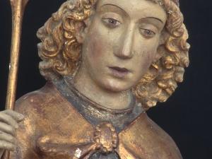 Museo Diocesano de San Sebastián. Escultura. Detalle de San Miguel Arcángel
