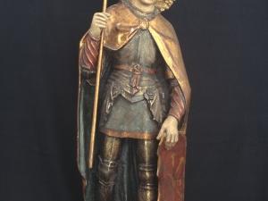 Museo Diocesano de San Sebastián. Escultura. San Miguel Arcángel