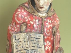 Museo Diocesano de San Sebastián. Escultura. Detalle de San Lorenzo