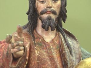 Museo Diocesano de San Sebastián. Escultura. Detalle del Salvador