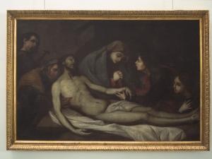 Museo Diocesano de San Sebastián. Pintura. Entierro de Cristo