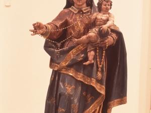 Museo Diocesano de San Sebastián. Escultura. Virgen del Rosario