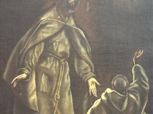 Museo Diocesano de San Sebastián. Pintura. Estigmatización de San Francisco de Asís