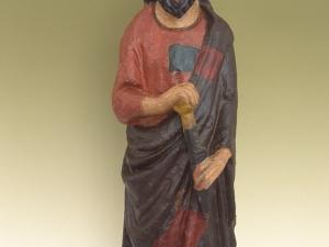 Museo Diocesano de San Sebastián. Escultura. San Bartolomé