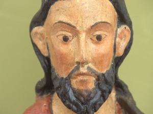 Museo Diocesano de San Sebastián. Escultura. Detalle de San Bartolomé