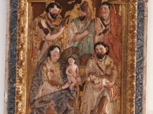 Museo Diocesano de San Sebastián. Relieve. Adoración de los pastores