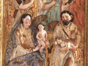 Museo Diocesano de San Sebastián. Relieve. Detalle de la Adoración de los pastores