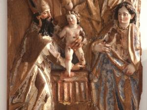 Museo Diocesano de San Sebastián. Relieve. Presentación de Jesús en el templo