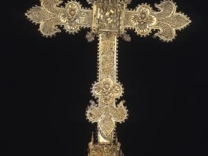 Museo Diocesano de San Sebastián. Cruz procesional