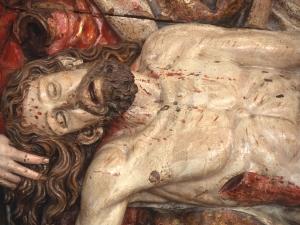 Museo Diocesano de San Sebastián. Relieve. Detalle de la Piedad