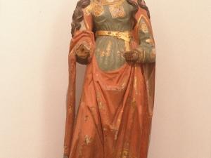 Museo Diocesano de San Sebastián. Escultura. María Magdalena