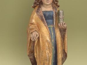 Museo Diocesano de San Sebastián. Escultura. Santa Inés