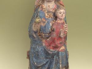 Museo Diocesano de San Sebastián. Escultura. Andra Mari