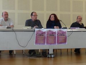 """Presentación de las conferencias """"Desempolvando el pasado de Mondragón I"""""""