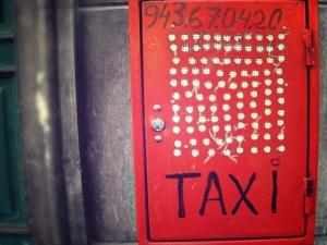 Tolosako taxiak