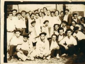 Gabiriako gazte taldea.