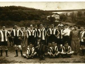 Ormaiztegiko futbol taldea.