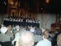 Actuación de la coral Oñati en el convento-auditorium de Santa Ana