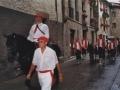 Desfilea herriko kaleetatik barna Mairuaren alardean