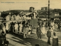 San Sebastián : carnaval de 1909 : tragantúa almorzando / Cliché González