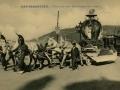 San Sebastián : carnaval de 1909 : supervivientes de la vigilia / Cliché González