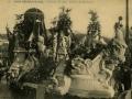 San Sebastián : carnaval de 1909 : carroza de las Reinas / Cliché González