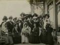 San Sebastián : grupo de mujeres en el carnaval