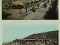 San Sebastián : la playa, vista parcial = la plage, vue partielle ; San Sebastián : puente del Kursaal = pont du Kursaal